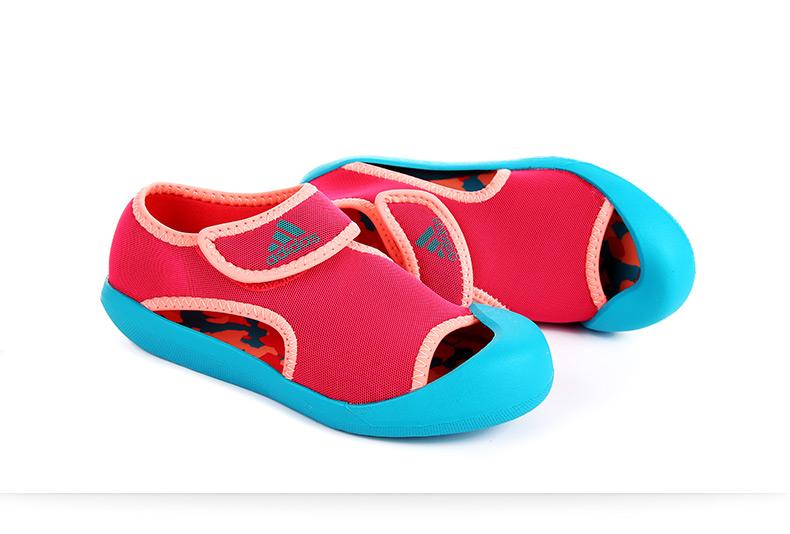 阿迪达斯童鞋男女2016夏季新款儿童鞋包头凉鞋运动童鞋af3876 af3877