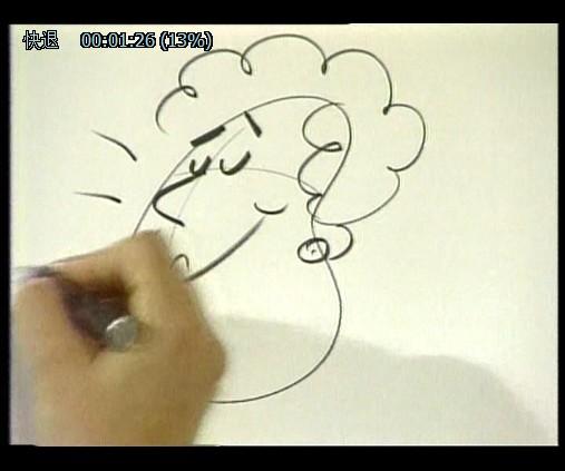儿童创意卡通绘画