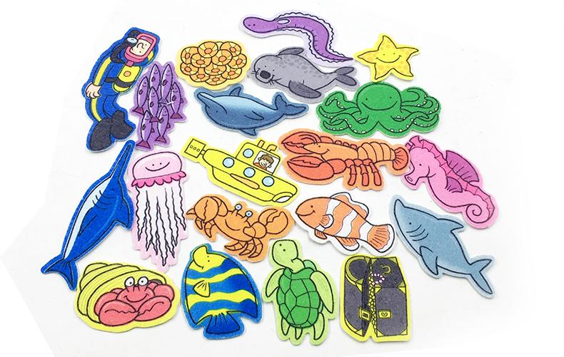 ocean 海底世界 场景游戏书 纸板书 原版英文亲子启蒙认知绘本 趣味