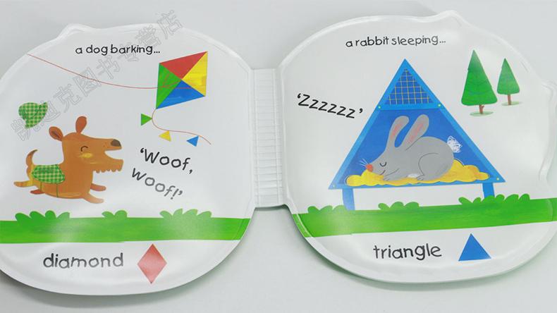 和小动物一起玩吧 play with animal friends 洗澡书系列礼盒装5册