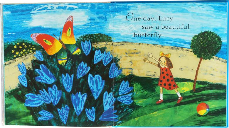 英文原版 butterfly butterfly 儿童阅读 精装绘本 有立体页
