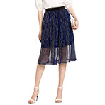 OSA欧莎2018夏装新款高腰显瘦中长款a字裙港味中长款网纱半身裙女