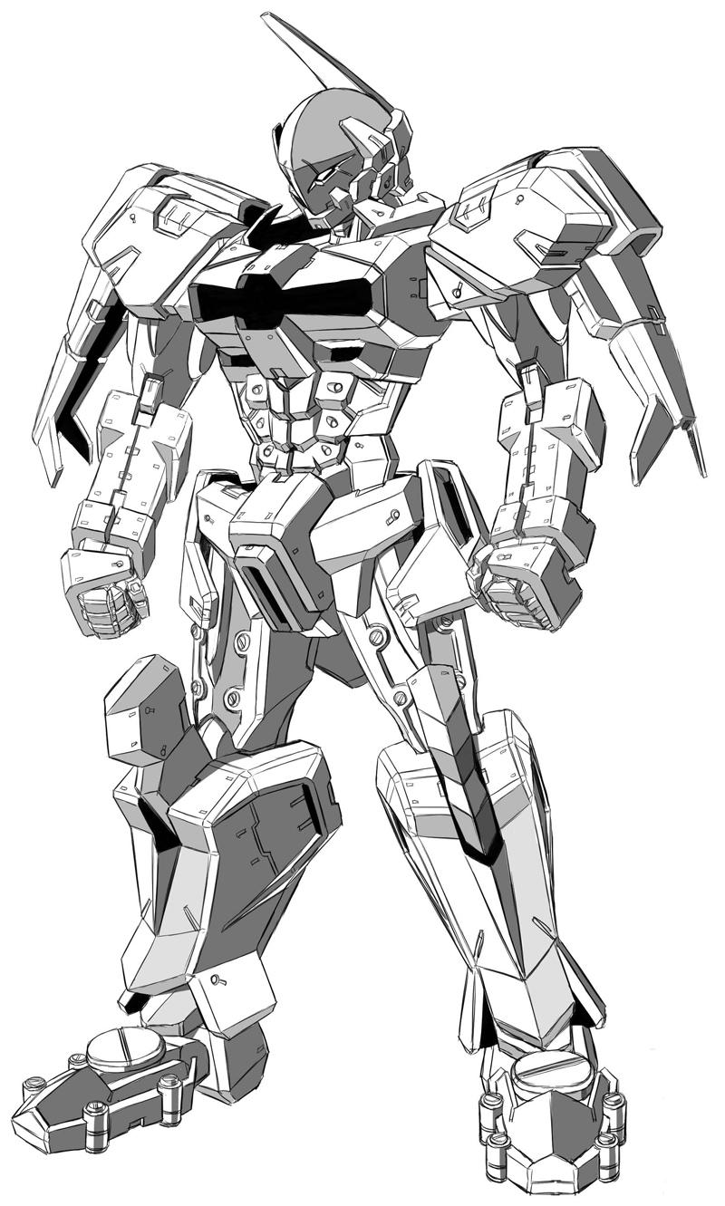 japan漫画课堂-机器人画法快速入门篇