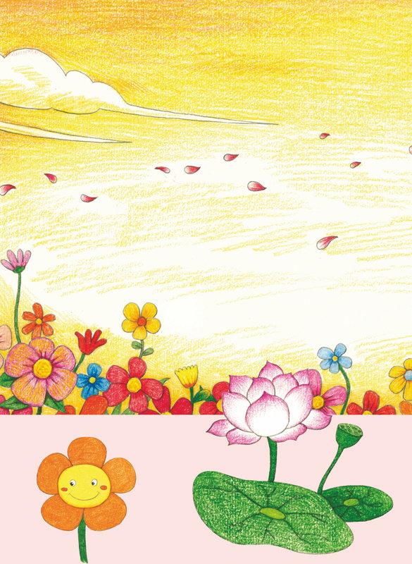 涂涂猫的彩色铅笔简笔画:大自然藏宝图(修订版) 涂涂猫 9787115408815