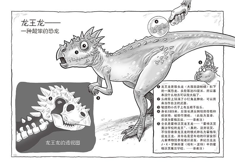 童简笔画恐龙步骤